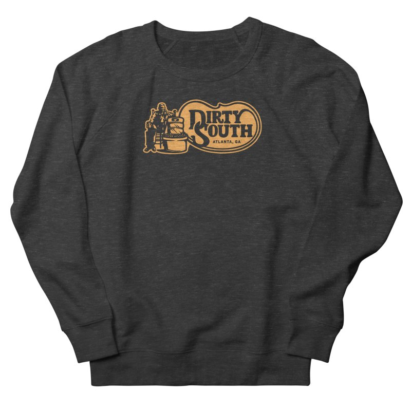 Dirty South Porch Party Men's French Terry Sweatshirt by MattAlbert84's Apparel Shop