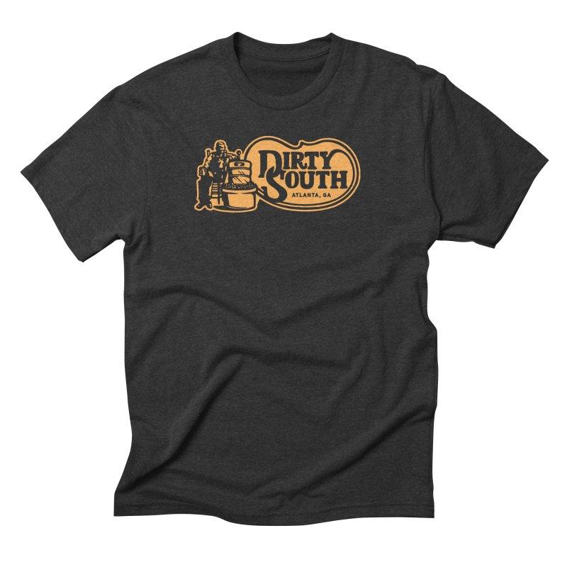Dirty South Porch Party Men's Triblend T-Shirt by MattAlbert84's Apparel Shop