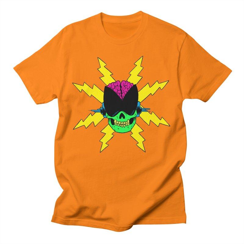 The Skull Bolt Men's Regular T-Shirt by mattchee