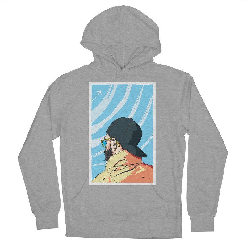 Look to the Sky Women's Pullover Hoody by Matt Fontaine Illustration
