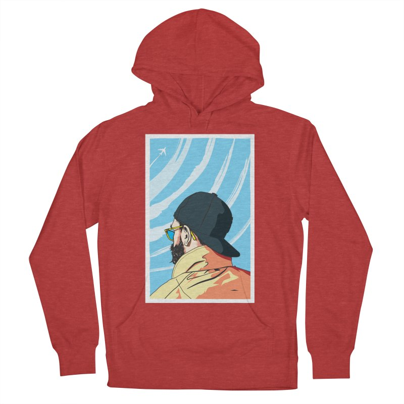 Look to the Sky Men's Pullover Hoody by Matt Fontaine Illustration