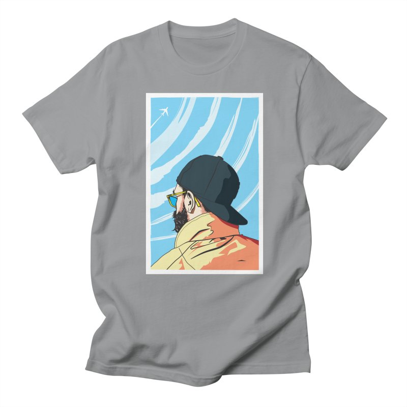 Look to the Sky Men's T-shirt by Matt Fontaine Illustration