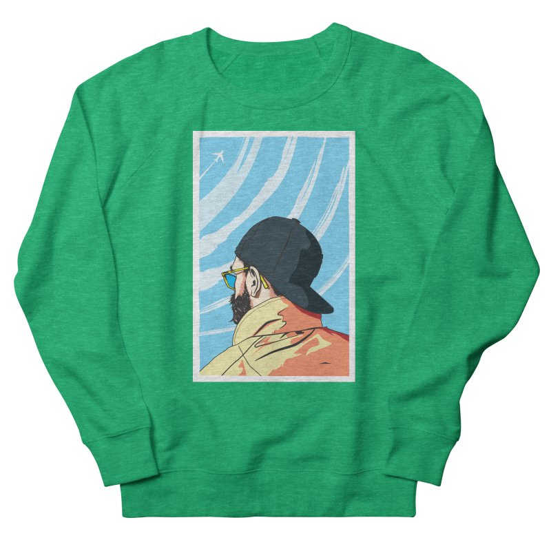 Look to the Sky Women's Sweatshirt by Matt Fontaine Illustration