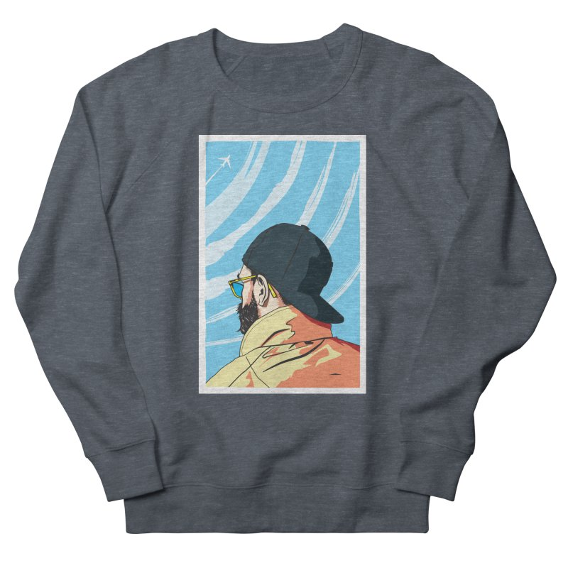 Look to the Sky Women's Sweatshirt by Matt Fontaine Illustration