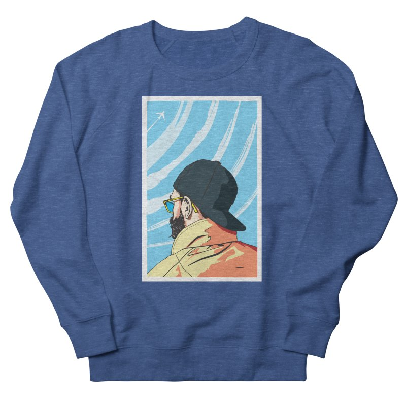 Look to the Sky Men's Sweatshirt by Matt Fontaine Illustration