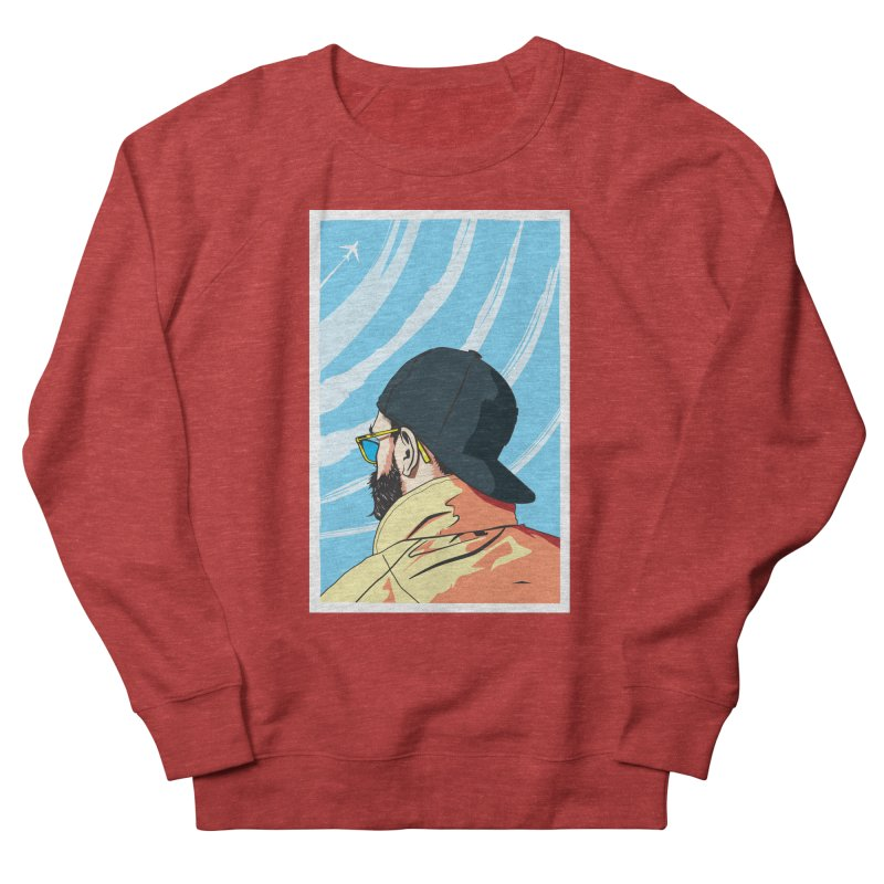 Look to the Sky Men's Sweatshirt by Matt Fontaine Illustration