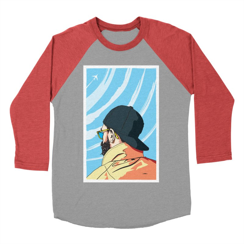 Look to the Sky Women's Baseball Triblend T-Shirt by Matt Fontaine Illustration