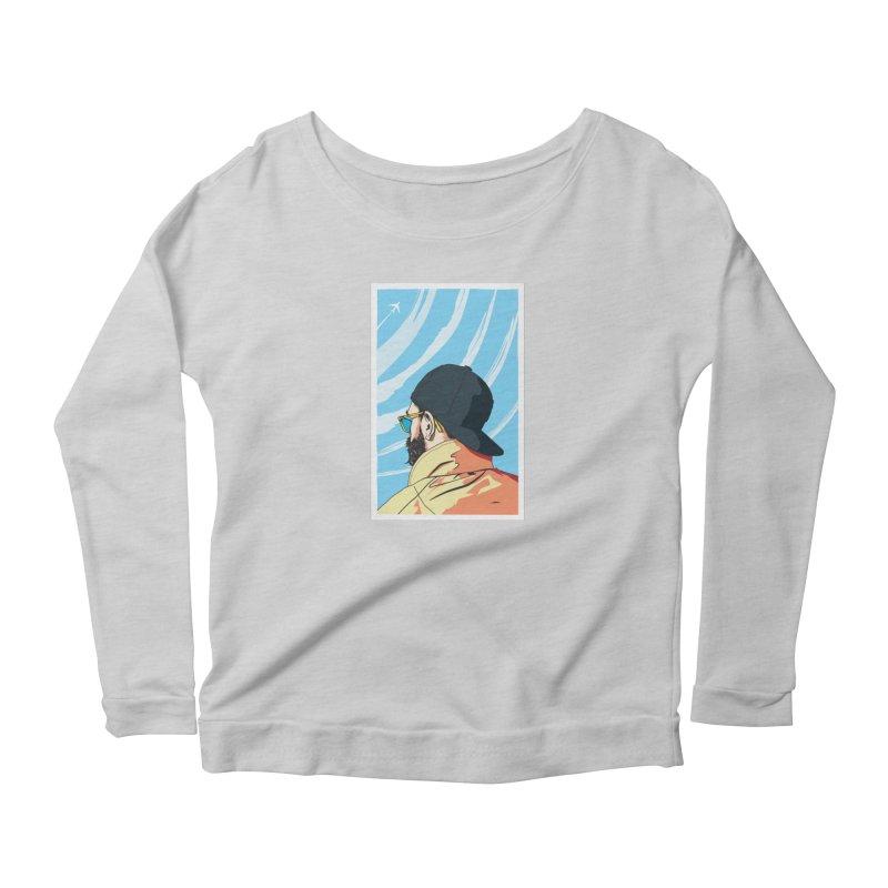 Look to the Sky Women's Longsleeve T-Shirt by Matt Fontaine Illustration
