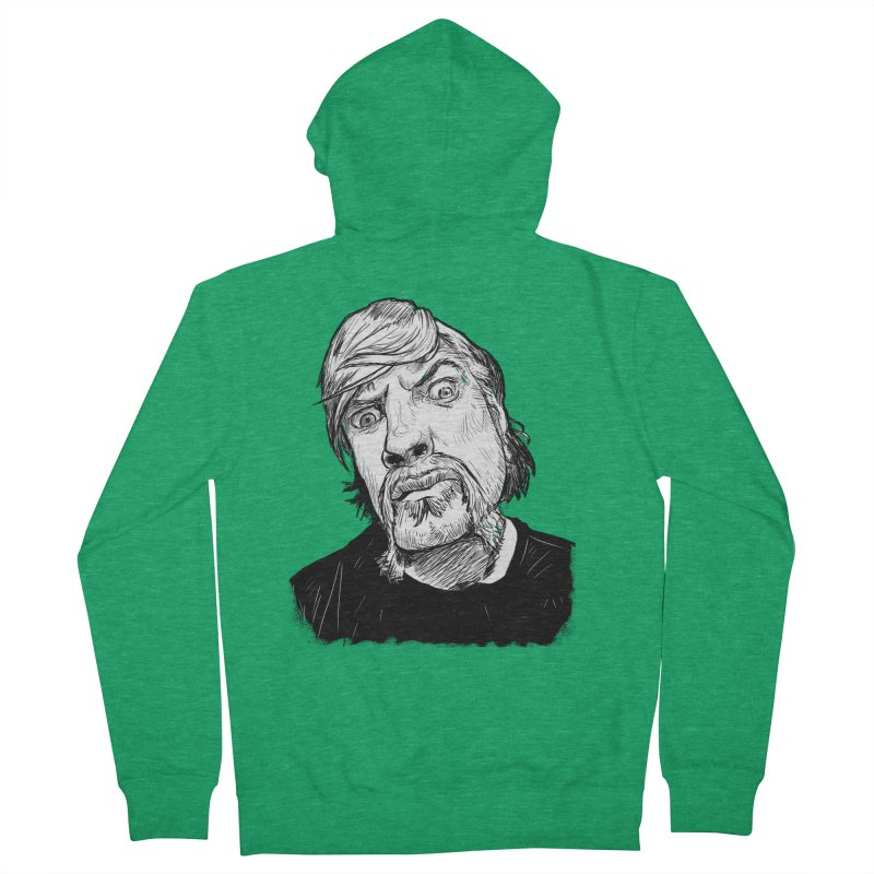 What you looking at?! Women's Zip-Up Hoody by Matt Fontaine Illustration
