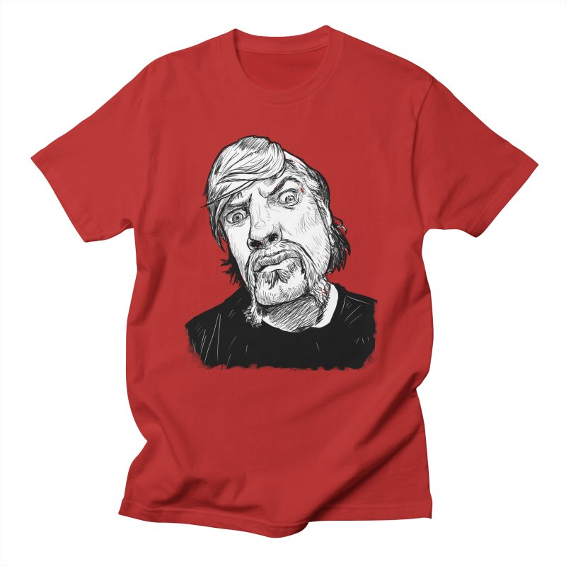 What you looking at?! Men's T-shirt by Matt Fontaine Illustration