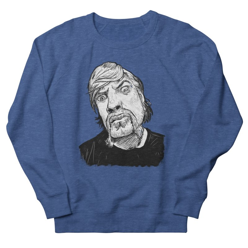 What you looking at?! Men's Sweatshirt by Matt Fontaine Illustration
