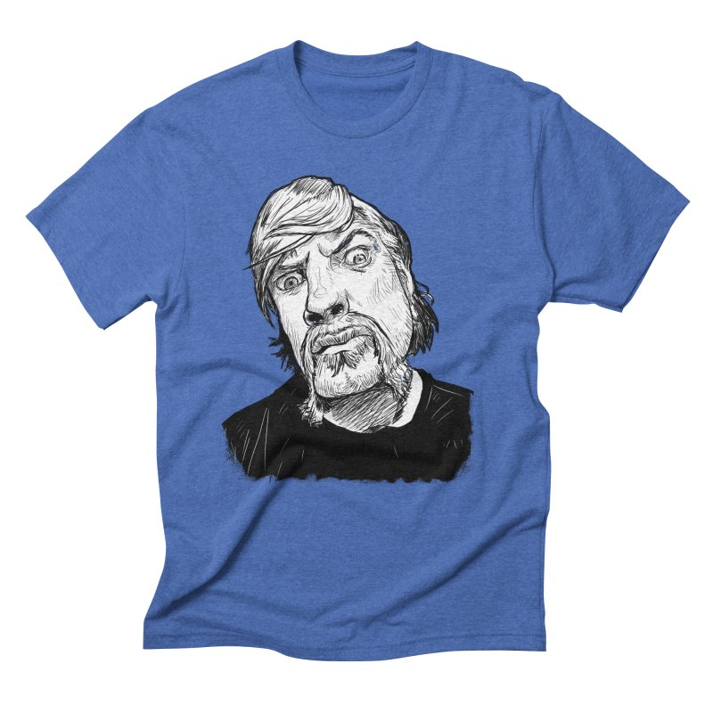 What you looking at?! Men's Triblend T-Shirt by Matt Fontaine Illustration