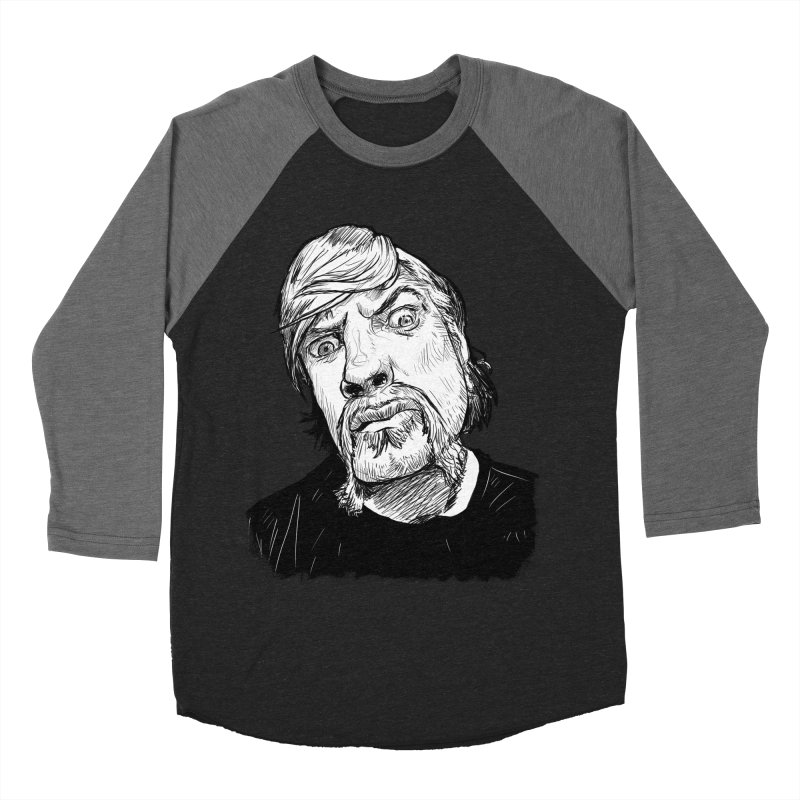 What you looking at?! Women's Baseball Triblend T-Shirt by Matt Fontaine Illustration