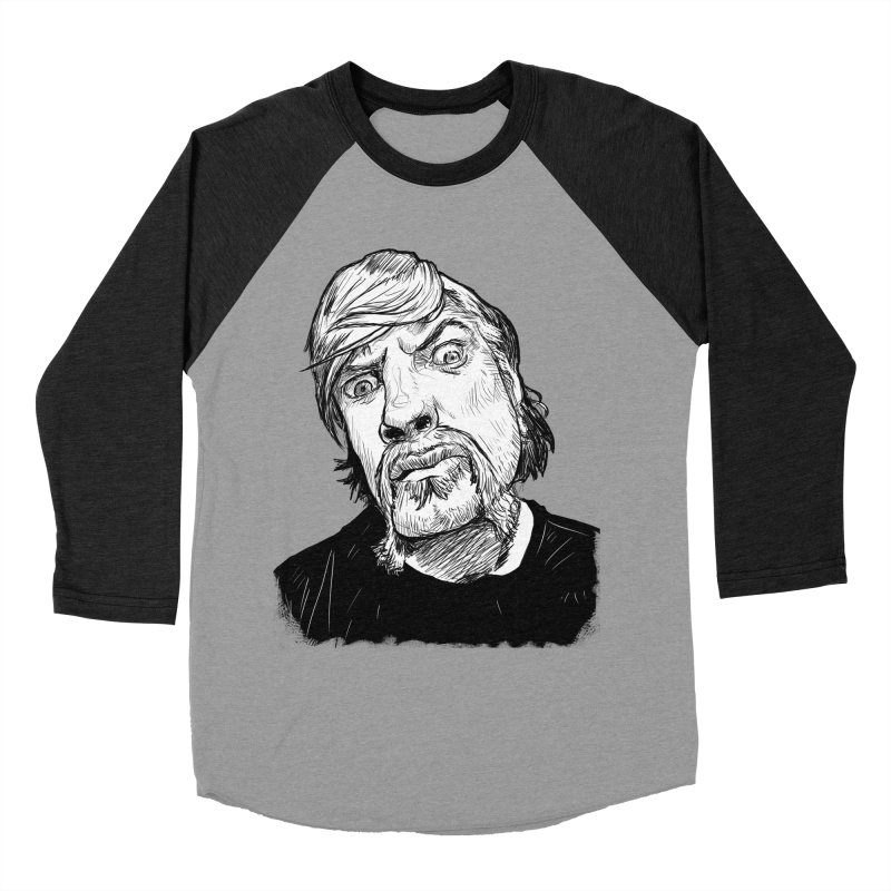 What you looking at?! Men's Baseball Triblend T-Shirt by Matt Fontaine Illustration