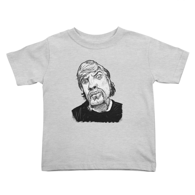 What you looking at?! Kids Toddler T-Shirt by Matt Fontaine Illustration