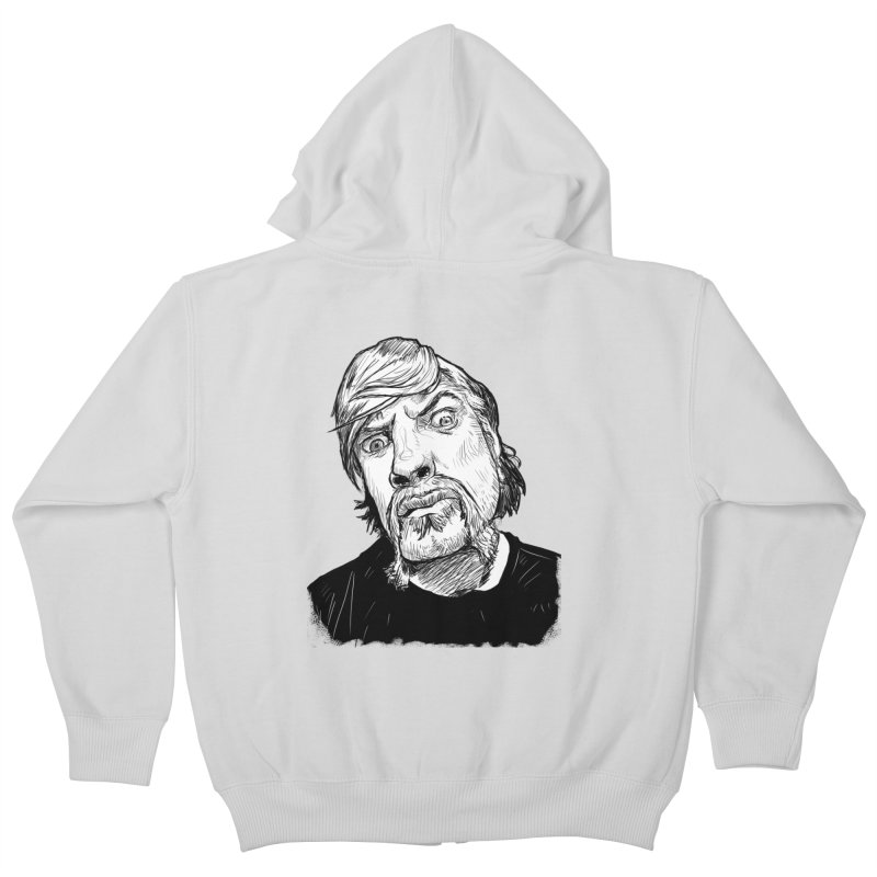 What you looking at?! Kids Zip-Up Hoody by Matt Fontaine Illustration