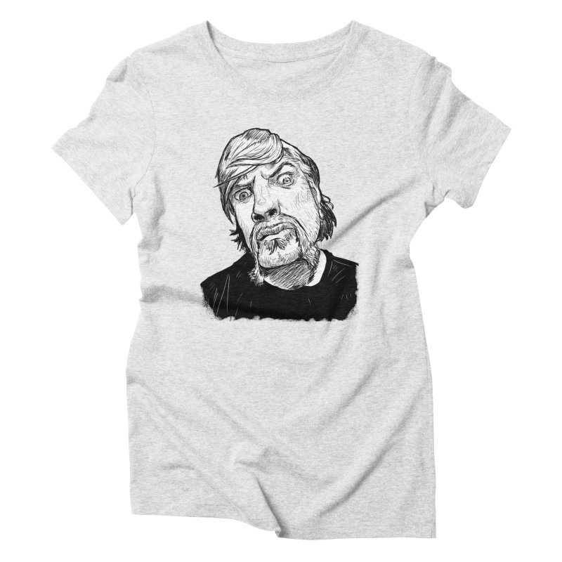 What you looking at?! Women's Triblend T-shirt by Matt Fontaine Illustration