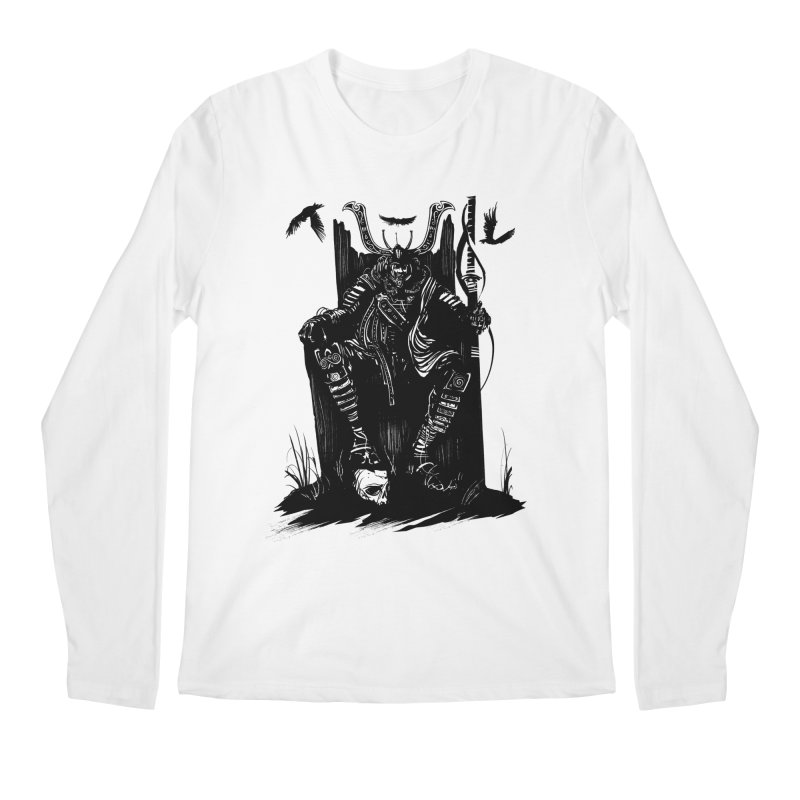 Lord Men's Longsleeve T-Shirt by Matt Griffin Apparel