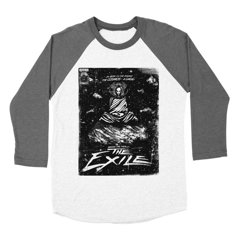 The Exile Men's Baseball Triblend Longsleeve T-Shirt by Matt Griffin Apparel