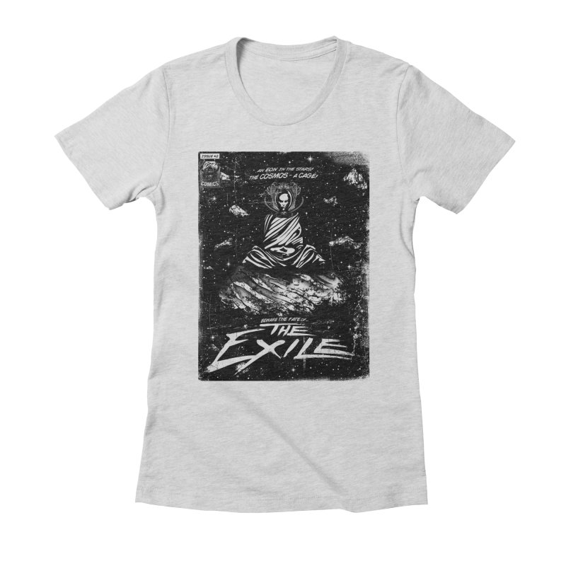 The Exile Women's Fitted T-Shirt by Matt Griffin Apparel