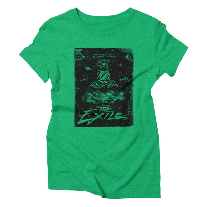 The Exile Women's Triblend T-shirt by Matt Griffin Apparel
