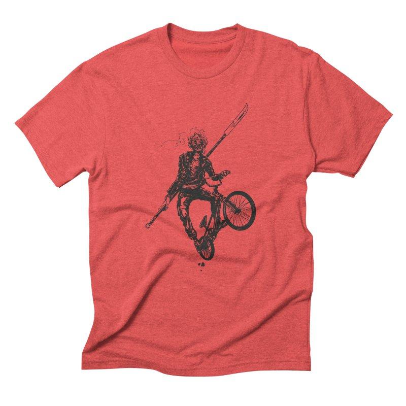 BMX Men's Triblend T-Shirt by Matt Griffin Apparel