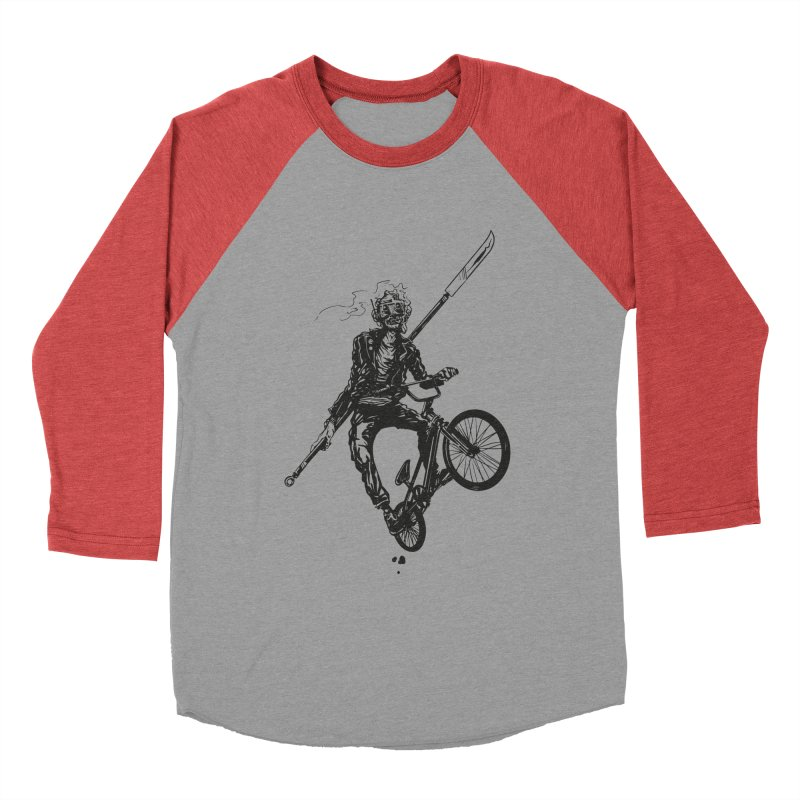 BMX Men's Baseball Triblend Longsleeve T-Shirt by Matt Griffin Apparel
