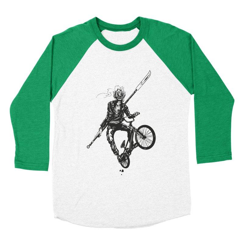 BMX Men's Baseball Triblend T-Shirt by Matt Griffin Apparel