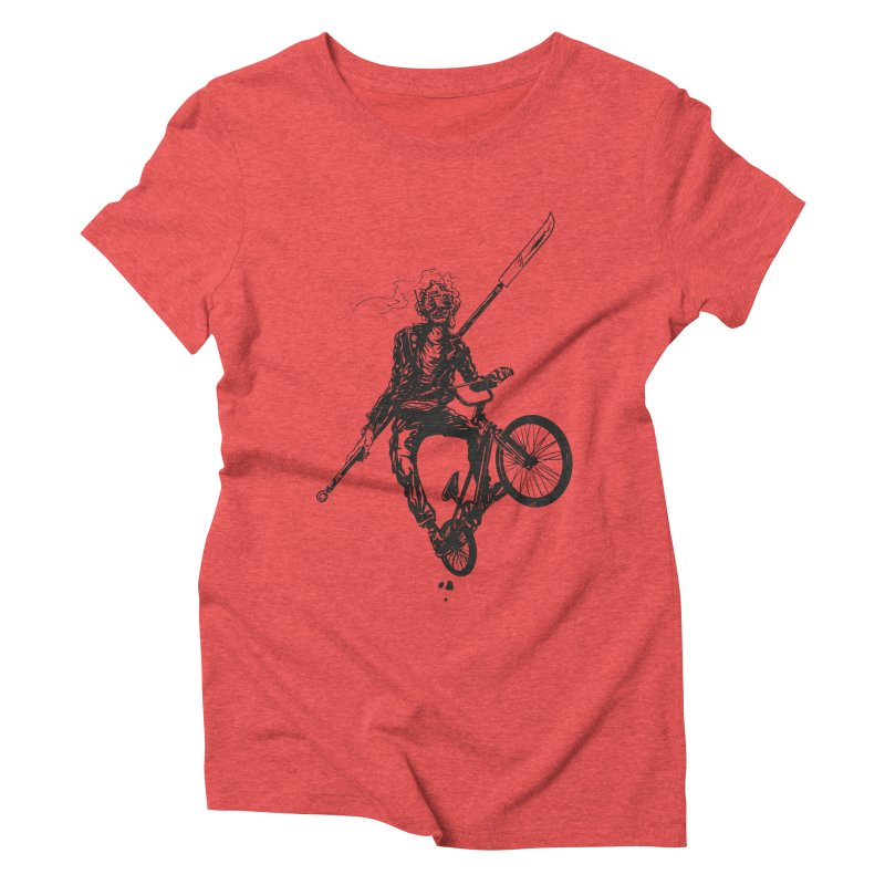 BMX Women's Triblend T-Shirt by Matt Griffin Apparel