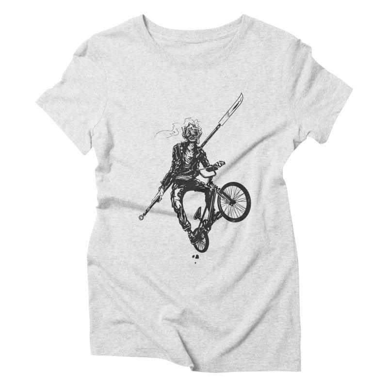 BMX Women's Triblend T-Shirt by Matt Griffin Apparel