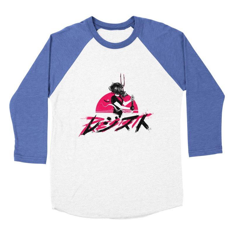 Resist Women's Baseball Triblend T-Shirt by Matt Griffin Apparel