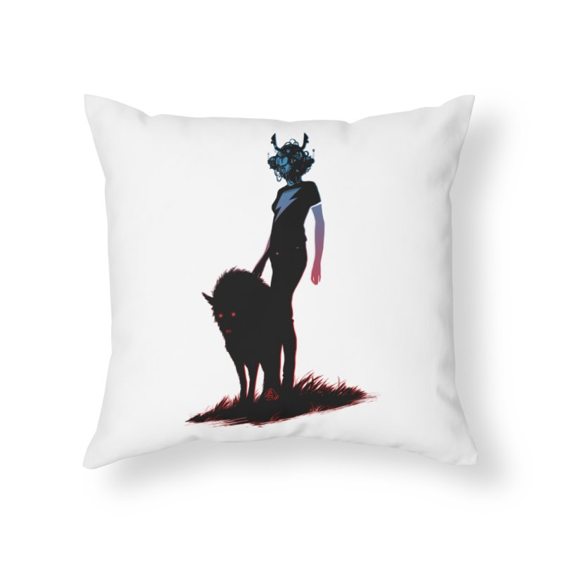 The Endling Colour 2 Home Throw Pillow by Matt Griffin Apparel