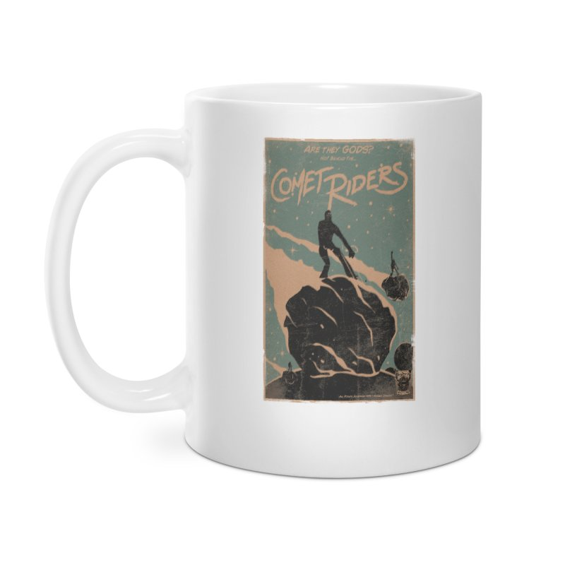 Comet Riders Accessories Mug by Matt Griffin Apparel