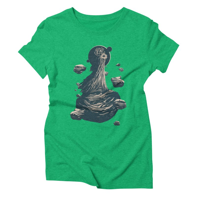 The Exile Returns (I) Women's Triblend T-shirt by Matt Griffin Apparel