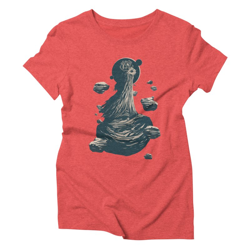 The Exile Returns (I) Women's Triblend T-Shirt by Matt Griffin Apparel