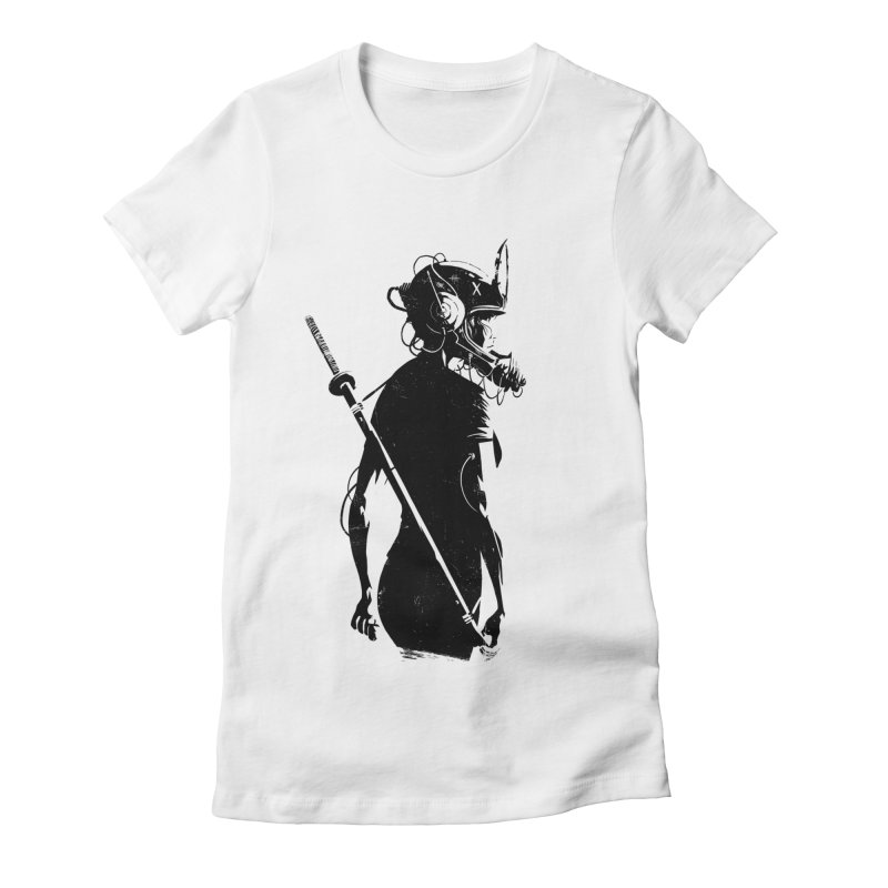 The Endling II Women's Fitted T-Shirt by Matt Griffin Apparel