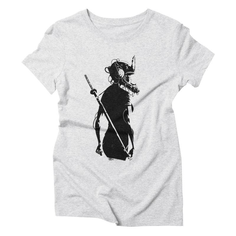 The Endling II Women's Triblend T-Shirt by Matt Griffin Apparel