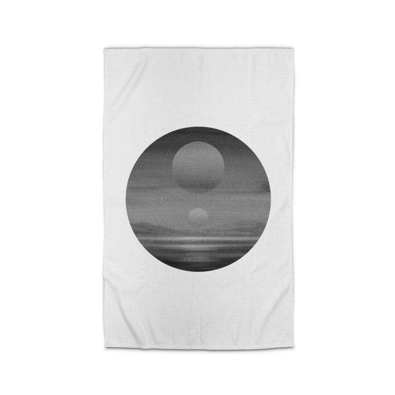 Other Seas / Other Suns (BW) I Home Rug by Matt Griffin Apparel