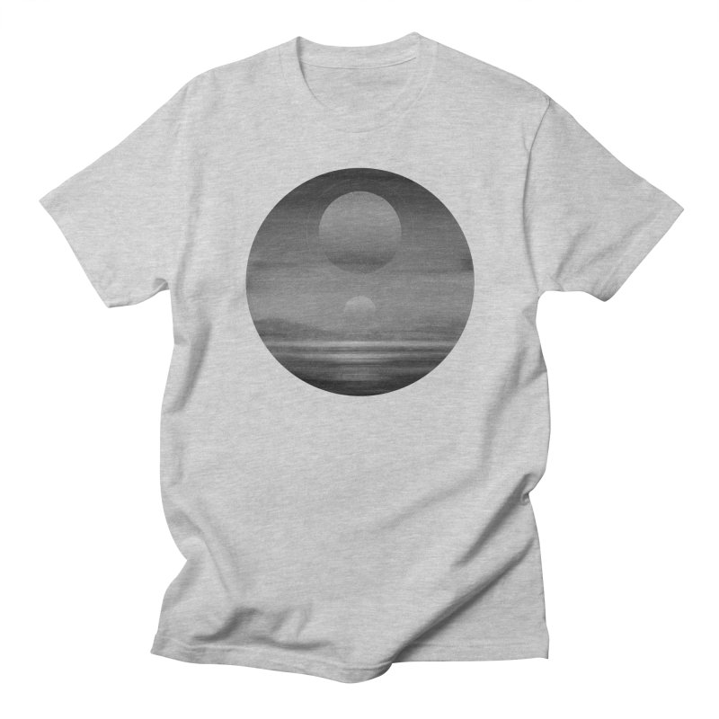 Other Seas / Other Suns (BW) I Men's Regular T-Shirt by Matt Griffin Apparel