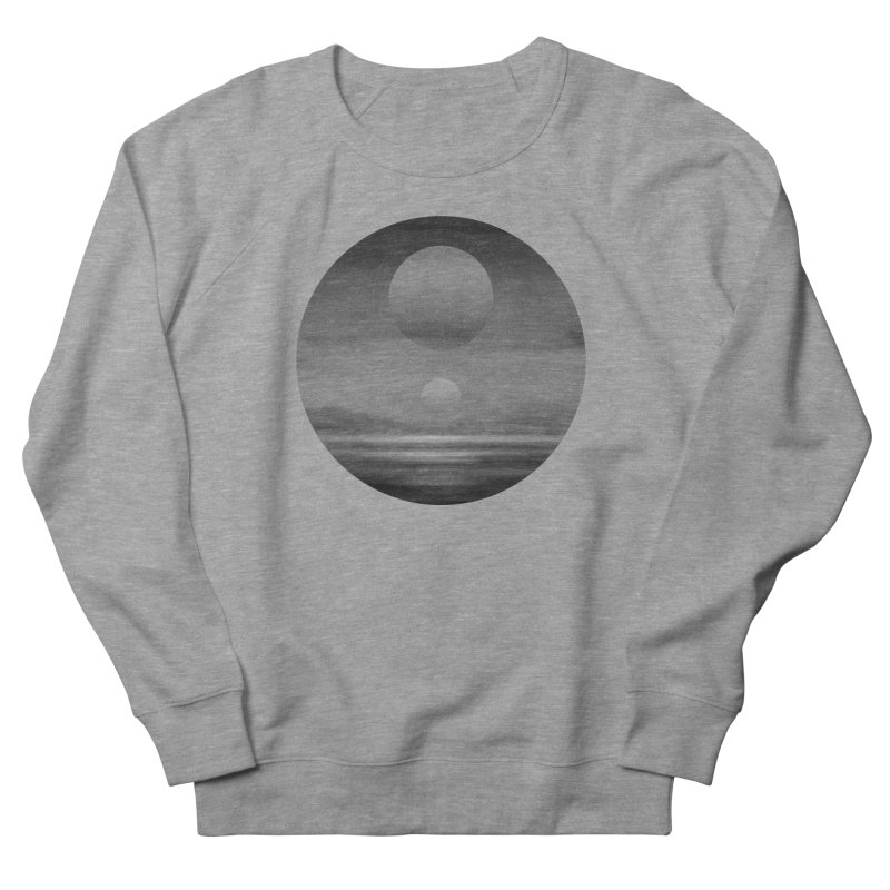 Other Seas / Other Suns (BW) I Men's French Terry Sweatshirt by Matt Griffin Apparel