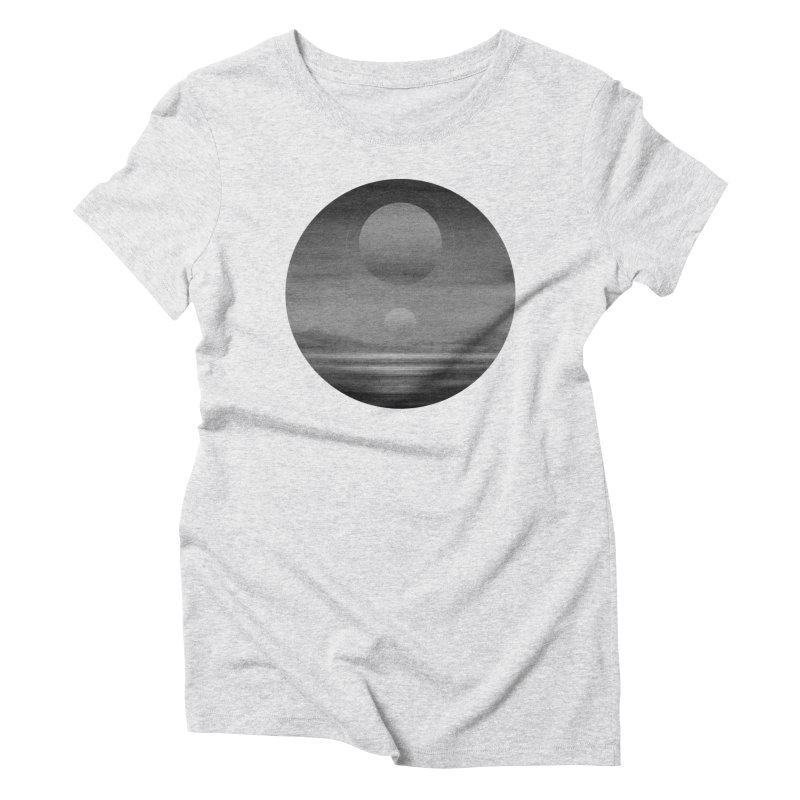 Other Seas / Other Suns (BW) I Women's T-Shirt by Matt Griffin Apparel