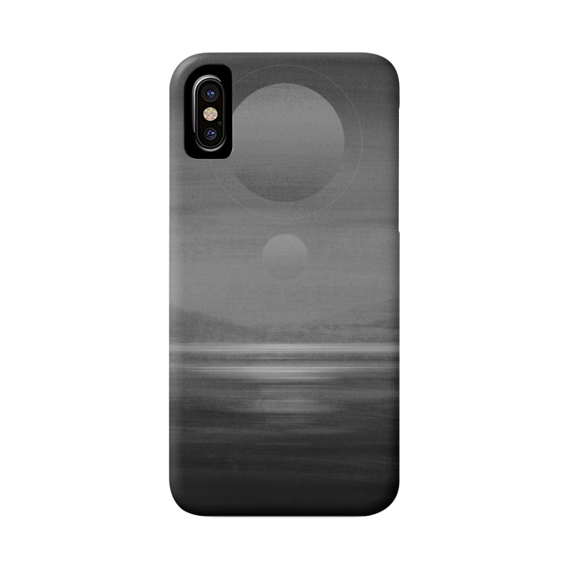 Other Seas / Other Suns (BW) / Phone Case in iPhone X Phone Case Slim by Matt Griffin Apparel