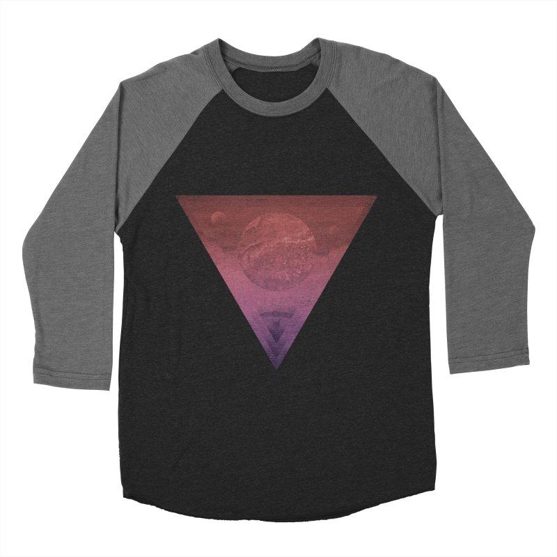 Worship of the Planets Women's Baseball Triblend T-Shirt by Matt Griffin Apparel