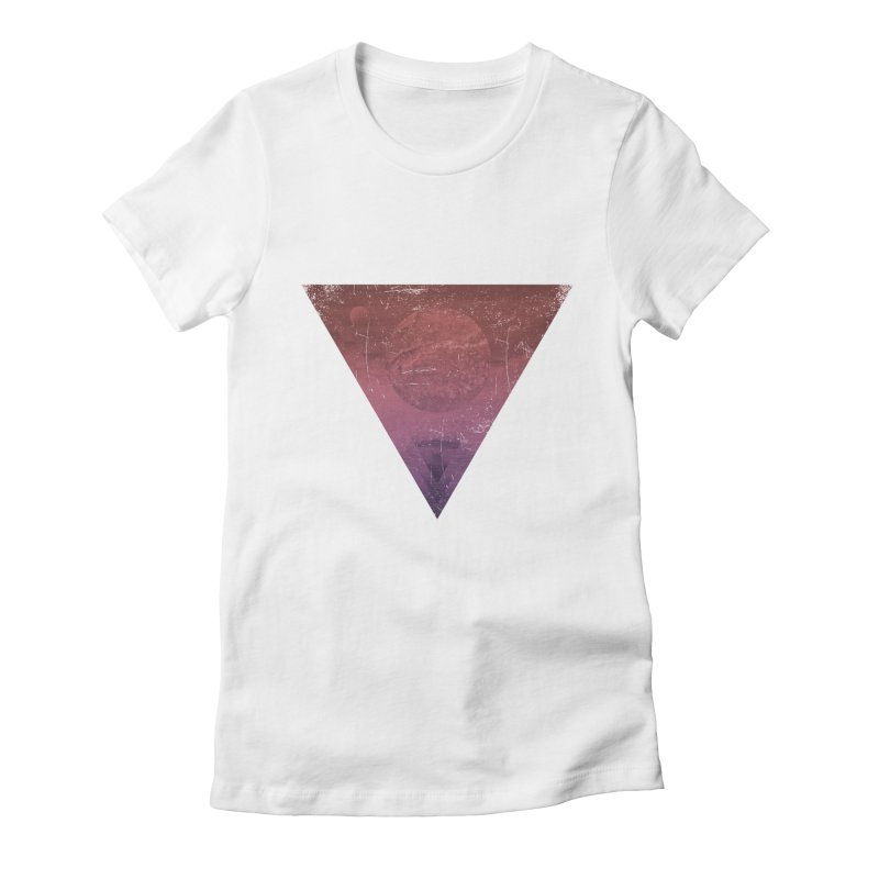 Worship of the Planets Women's Fitted T-Shirt by Matt Griffin Apparel