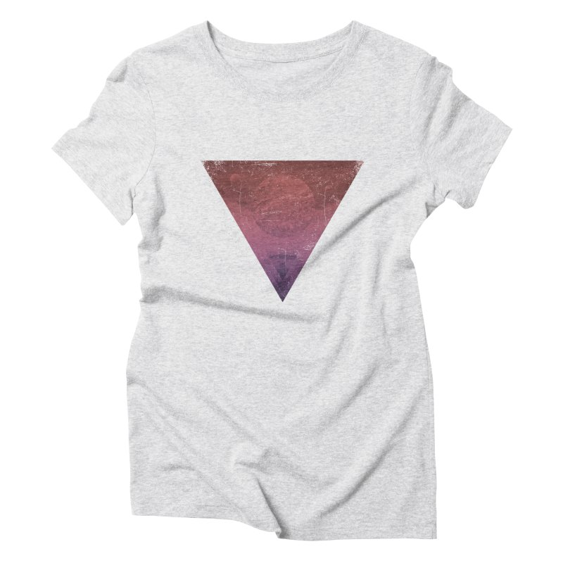 Worship of the Planets Women's Triblend T-Shirt by Matt Griffin Apparel