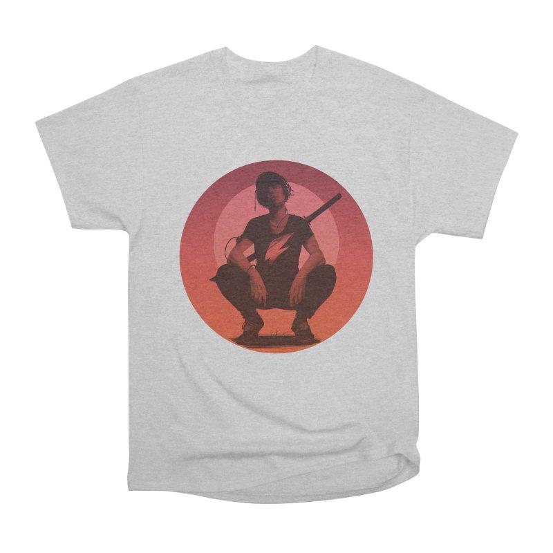The Endling III (Colour II) Men's Heavyweight T-Shirt by Matt Griffin Apparel