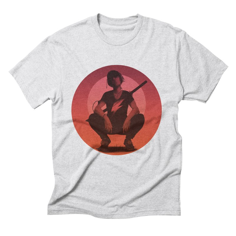 The Endling III (Colour II) Men's Triblend T-Shirt by Matt Griffin Apparel