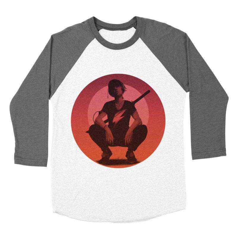 The Endling III (Colour II) Women's Baseball Triblend T-Shirt by Matt Griffin Apparel