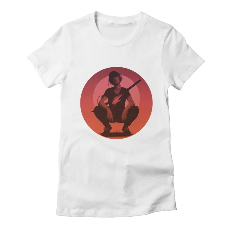 The Endling III (Colour II) Women's Fitted T-Shirt by Matt Griffin Apparel