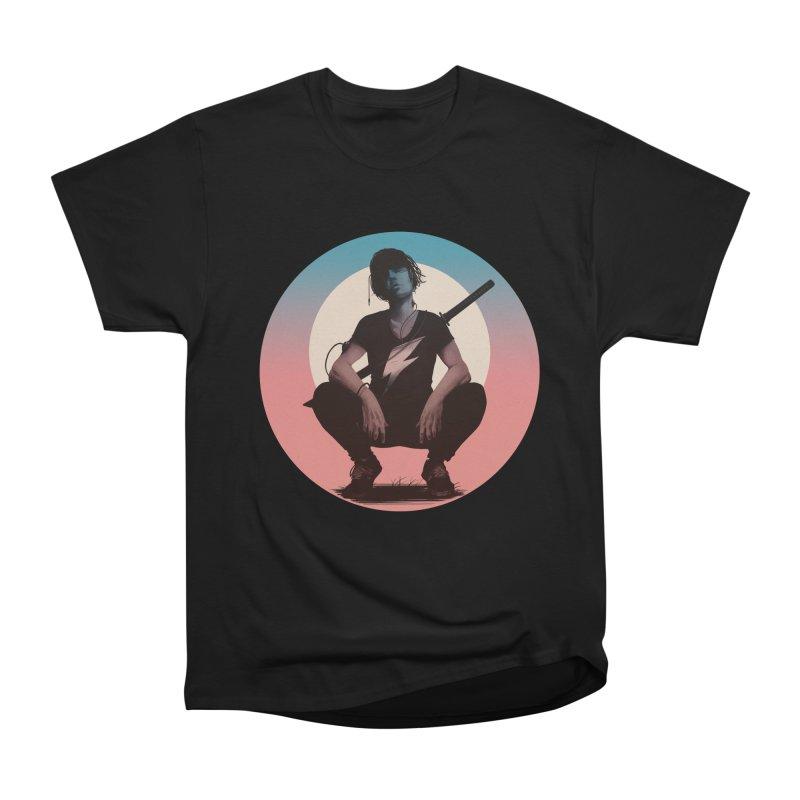 The Endling III (Colour I) Men's Heavyweight T-Shirt by Matt Griffin Apparel